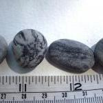 Beach pebbles collections